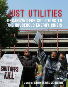 JUST UTILITIES: ORGANIZING FOR SOLUTIONS TO THE HOUSEHOLD ENERGY CRISIS
